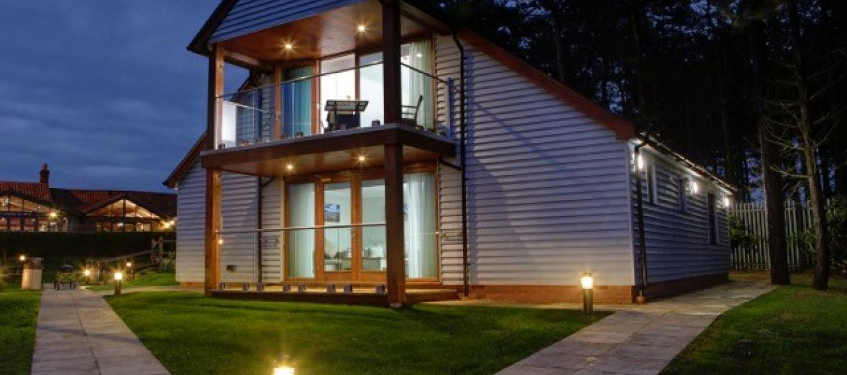 Self Catering Lodge North  Norfolk